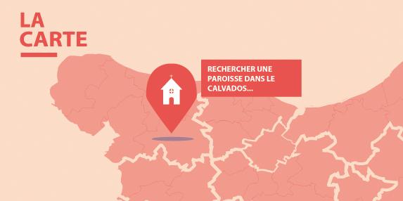 Accès à la carte des paroisses