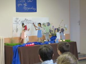 école de prière décors