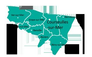 Carte de la paroisse de St Jean