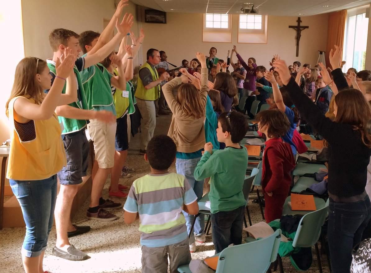 chant école de prière