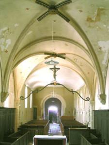 Eglise Saint Pierre de Le Manoir - La nef
