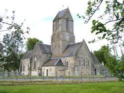 Eglise Saint Malo de Magny en Bessin - Vue d'ensemble