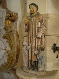 Eglise Saint Manvieu de Meuvaines - Saint Leonard de Noblat XVème siécle