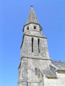 Eglise Saint Pierre de Sommervieu - Le clocher