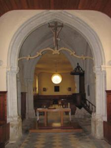 Eglise saint Côme et Saint Damien de Saint Côme de Fresné - Choeur