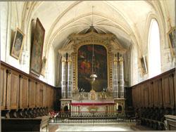 Eglise Saint Loup de Saint Loup Hors - Choeur et rétable