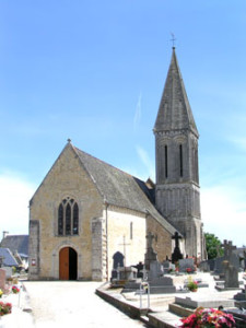 Eglise Saint Loup de Saint Loup - Vue d'ensemble