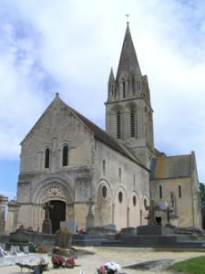 Eglise Saint Pierre de Tour en Bessin- Vue d'ensemble