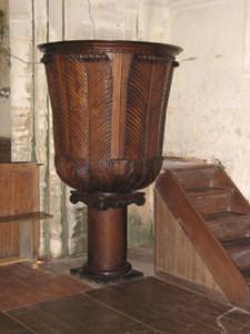 Eglise Saint Cyr de Vaucelles - Chaire