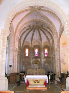 Eglise Saint Pierre de Vaux sur Seulles - Choeur roman