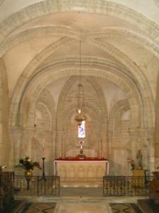 Eglise Saint Germain de Guéron - Choeur roman