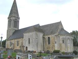Eglise Saint Germain de Guéron - Vue d'ensemble