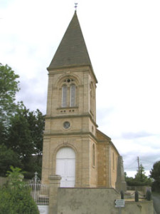 Eglise Saint Vigor d'Agy - Vue d'ensemble