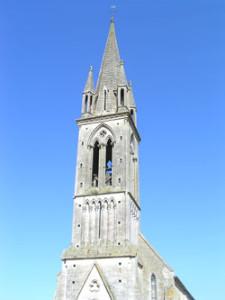 Eglise Saint Pantaléon d'Esquay sur Seulles - Clocher