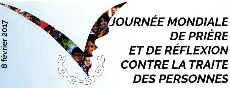 Affiche Journée mondiale de prière contre la traite des humains