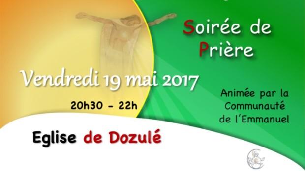 Tract soirée prière 19 mai Dozulé