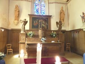 Maître-autel de Brucourt
