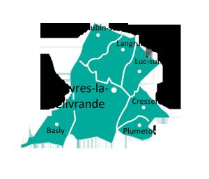 carte de la paroisse