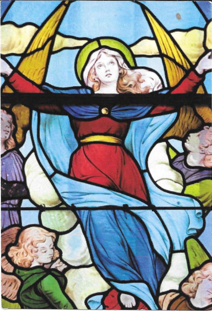 Vitrail Notre-Dame de Grâce