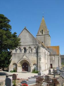 Eglise Saint Manvieu de Meuvaines - Vue d'ensemble