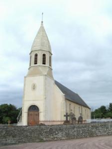 Eglise Saint Germain de Noron la Poterie - Vue d'ensemble