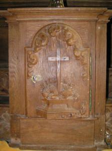Eglise de Ranchy - Tabernacle en bois du XVIIIème siècle