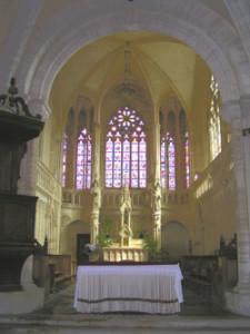 Eglise Saint Pierre de Tour en Bessin - Chœur gothique