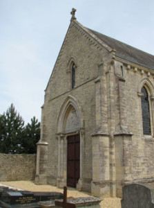 Eglise Saint Martin de Tracy sur Mer - Facade