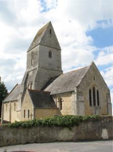 Eglise Saint Cyr de Vaucelles - Vue d'ensemble