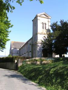 Eglise Saint Pierre de Vaux sur Seulles - Vue d'ensemble