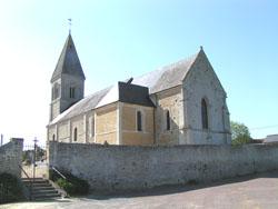 Eglise Saint Pierre de Vienne en Bessin - Vue d'ensemble
