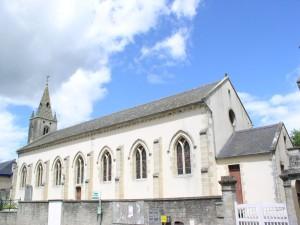 Eglise Saint Martin de Saint Martin des Entrées - Vue d'ensemble