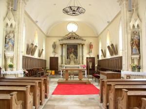 Eglise Saint Martin de Saint Martin des Entrées - Nef