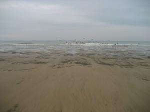 Une plage en Normandie