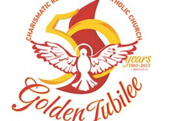 Logo jubilié d'or renouveau