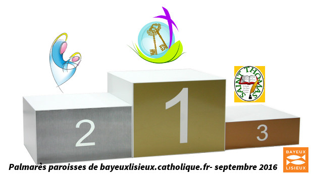 Podium paroisses septembre 2016