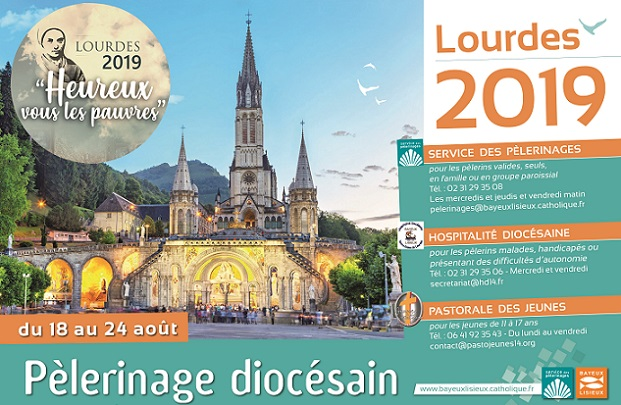 Calendrier Des Pelerinages Lourdes 2019.Lourdes 2019 Les Catholiques Du Calvados
