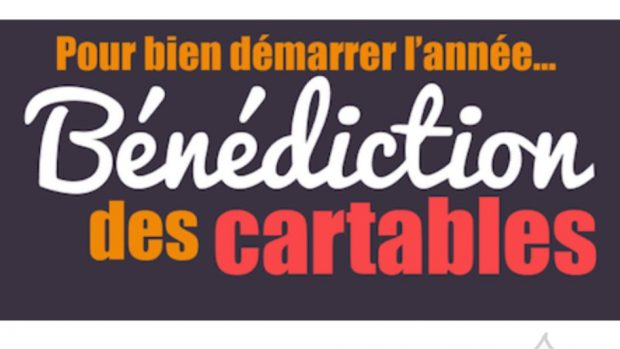 Bénédiction cartables